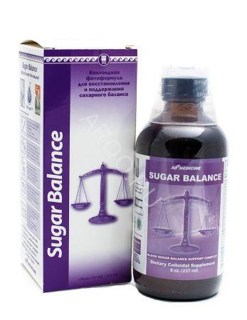Шугар Бэланс, для лечения сахарного диабета, коллоидная фитоформула Эд Медицин