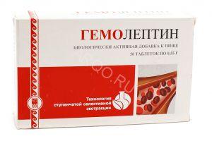 Гемолептин для стимулиции кроветворения и при анемиях