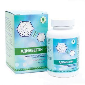 Адиабетон для нормализации уровня холестерина и улучшения углеводного обмена